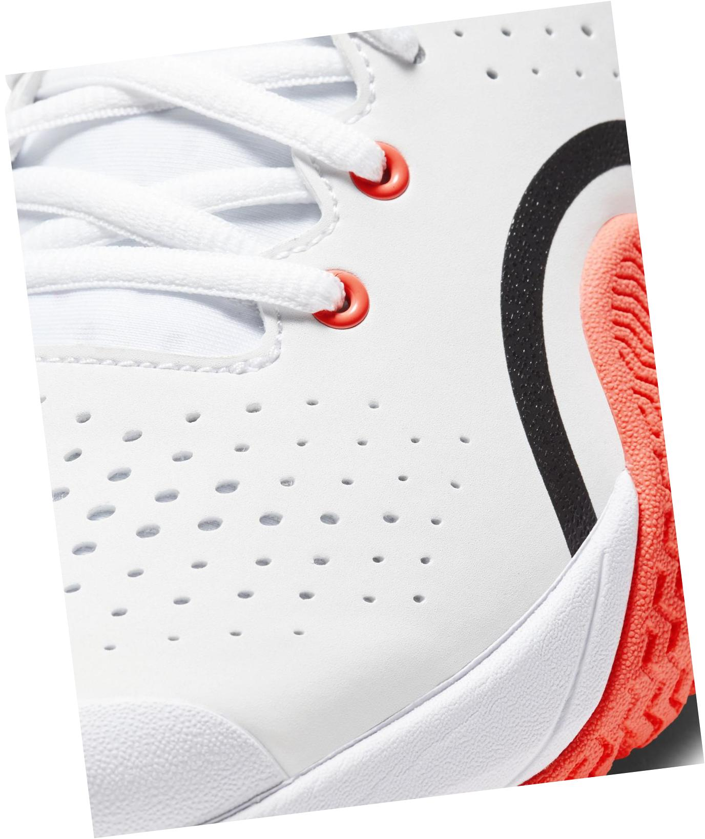 NikeCourt Tech Challenge 20 White / Hot Lava / Black / Dark Gray