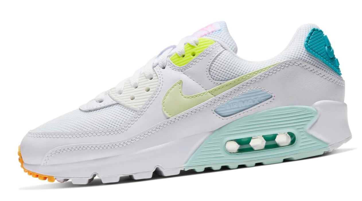 Nike Air Max 90 White/Volt/Barely Volt