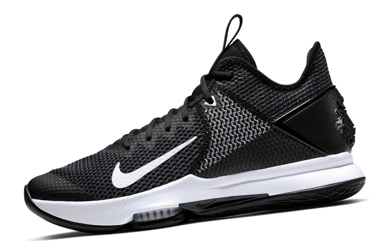 LeBron Witness 4 Black/White/Pure Platinum/Black