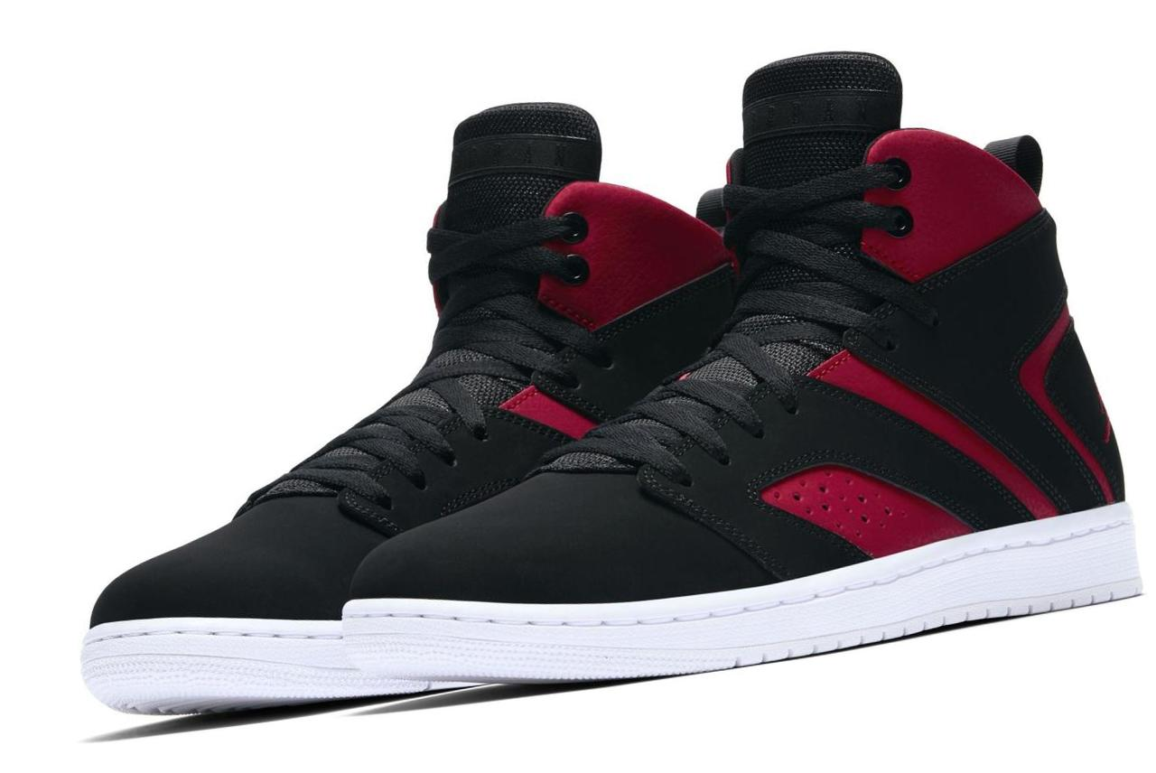Jordan Flight Legend Black/Gym Red/White/Black