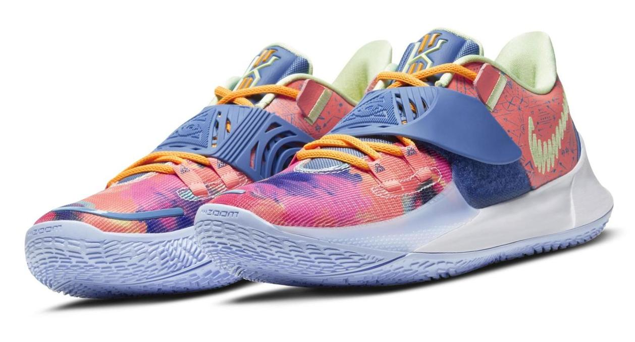 Kyrie Low 3 Harmony Atomic Pink/Stone Blue