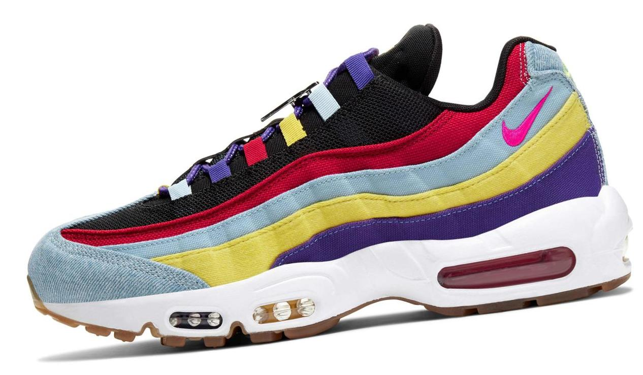 Nike Air Max 95 SP Psychic Blue/Chrome Yellow/White