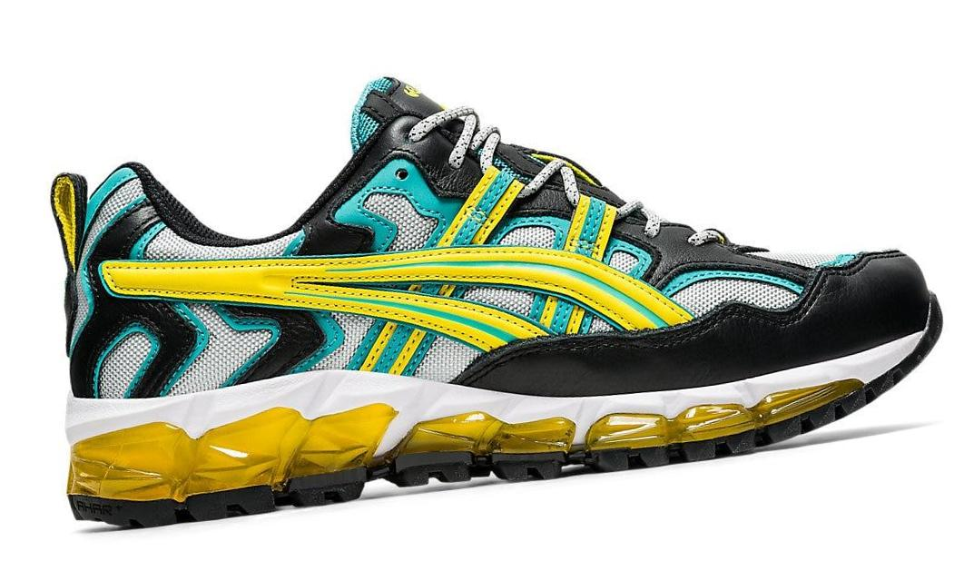 ASICS          GEL-NANDI 360      GLACIER GREY/MISSION YELLOW
