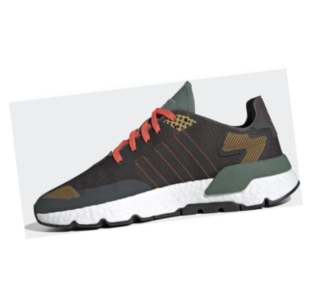 adidas Nite Jogger Tech Night Brown / Night Brown / Trace Green