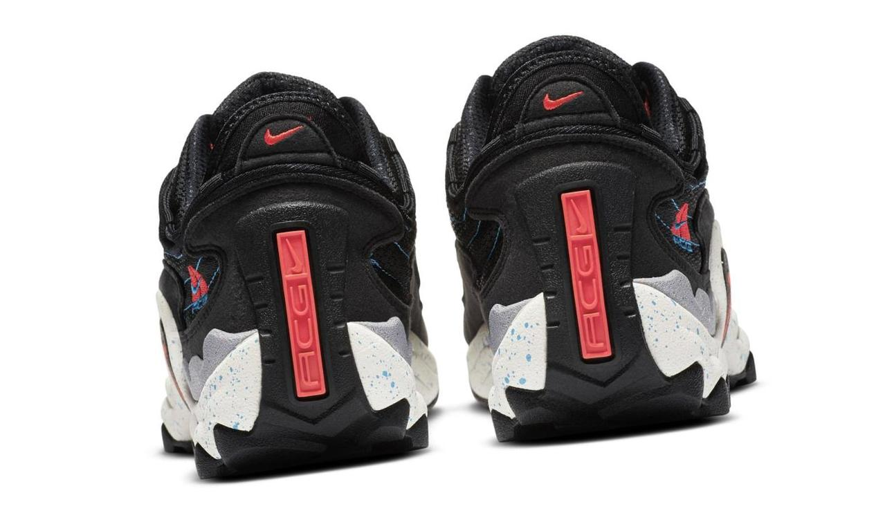 Nike Air Skarn Black/Imperial Blue/Habanero Red