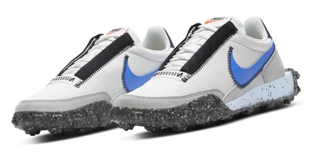 Nike Waffle Racer Crater Summit White/Photon Dust/Black/Photo Blue