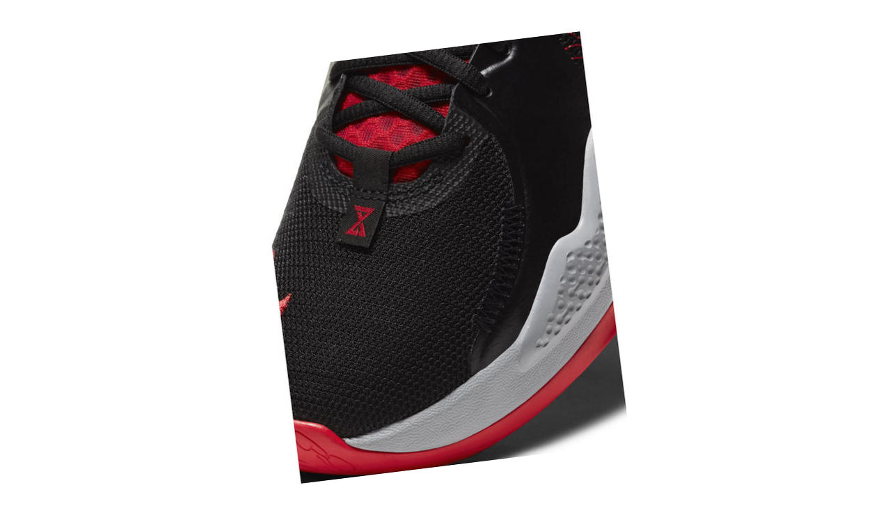 PG 5 Black / White / University Red