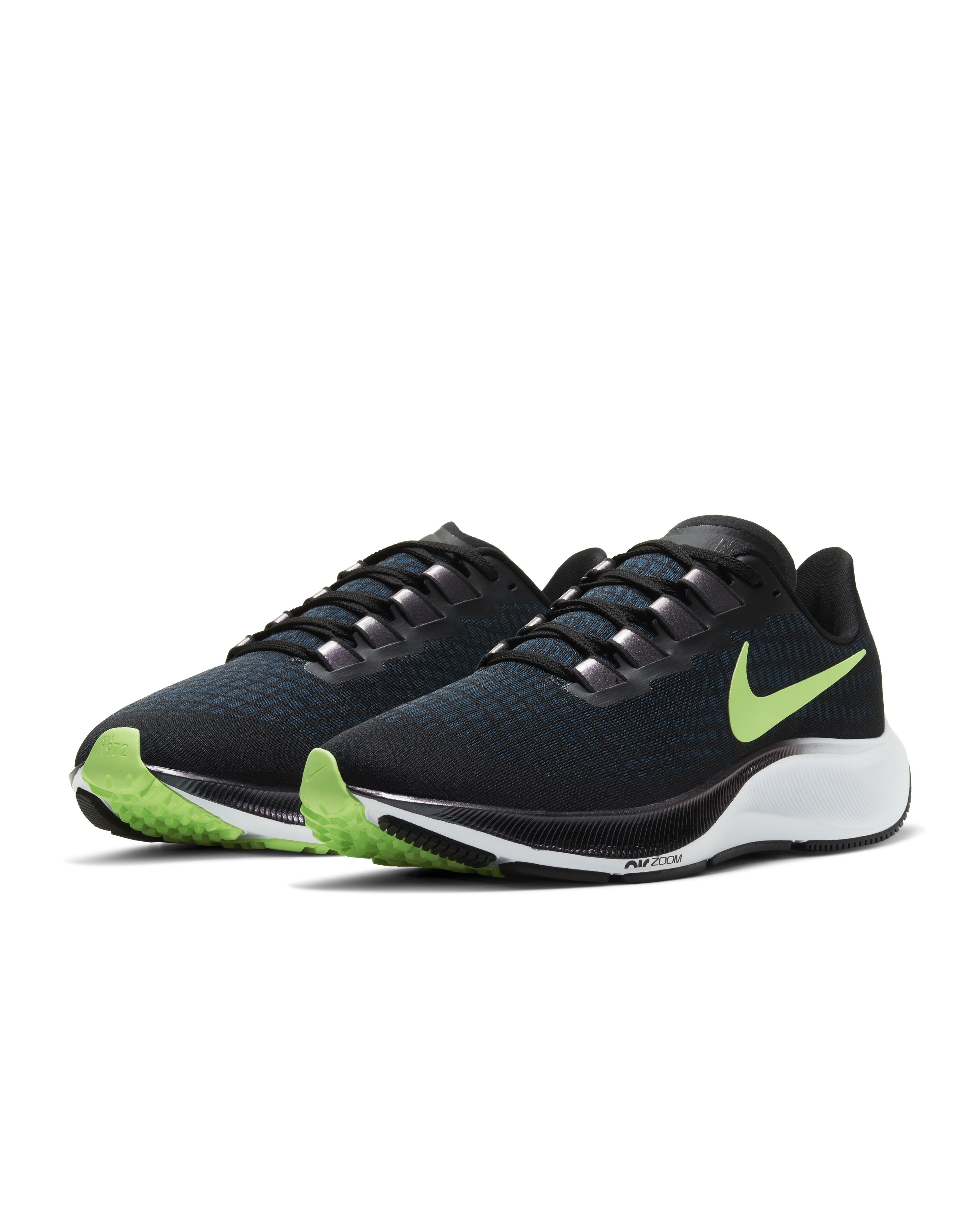 Nike Air Zoom Pegasus 37 Black/Valerian Blue/Spruce Aura/Ghost Green