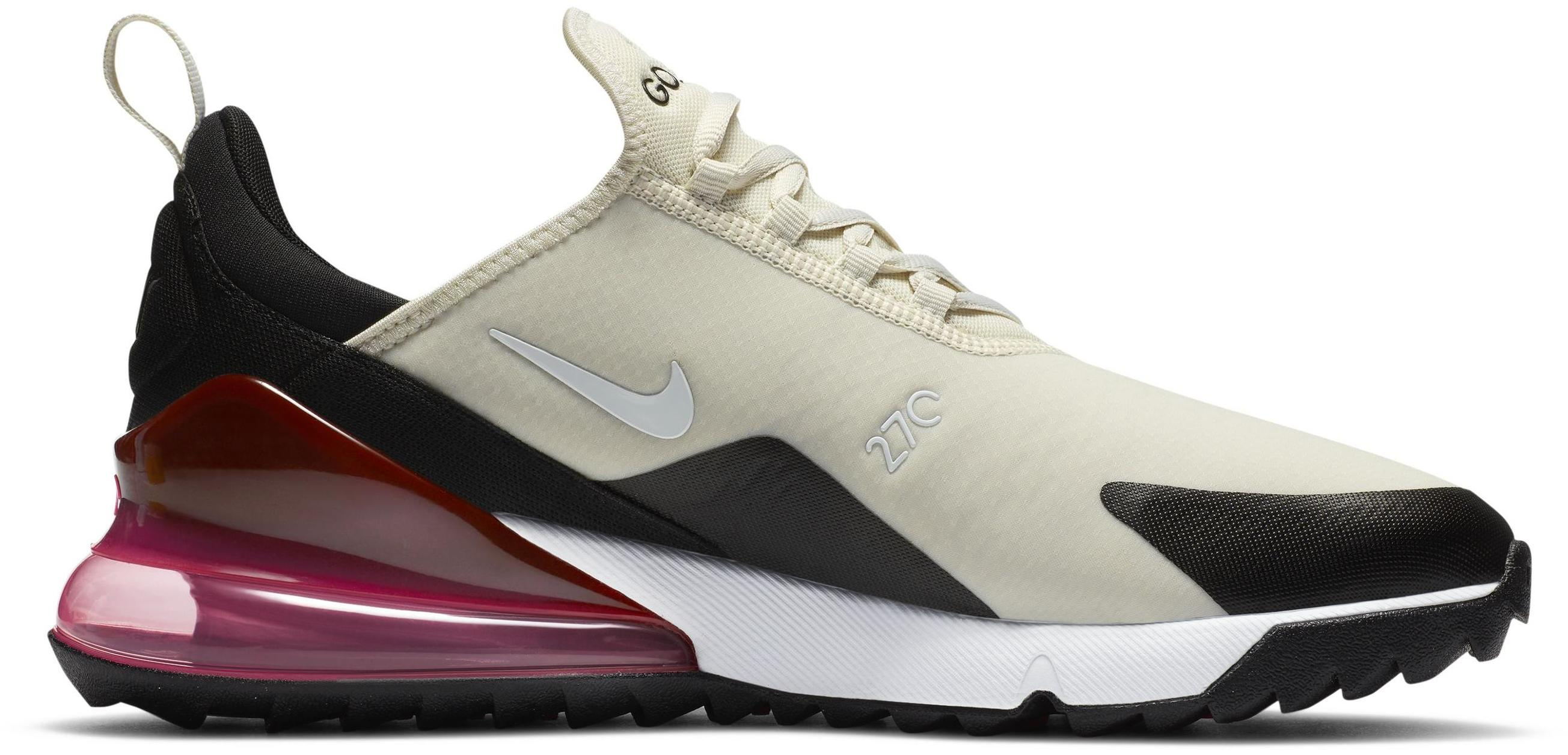 Nike Air Max 270 G Light Bone/Black/Hot Punch/White