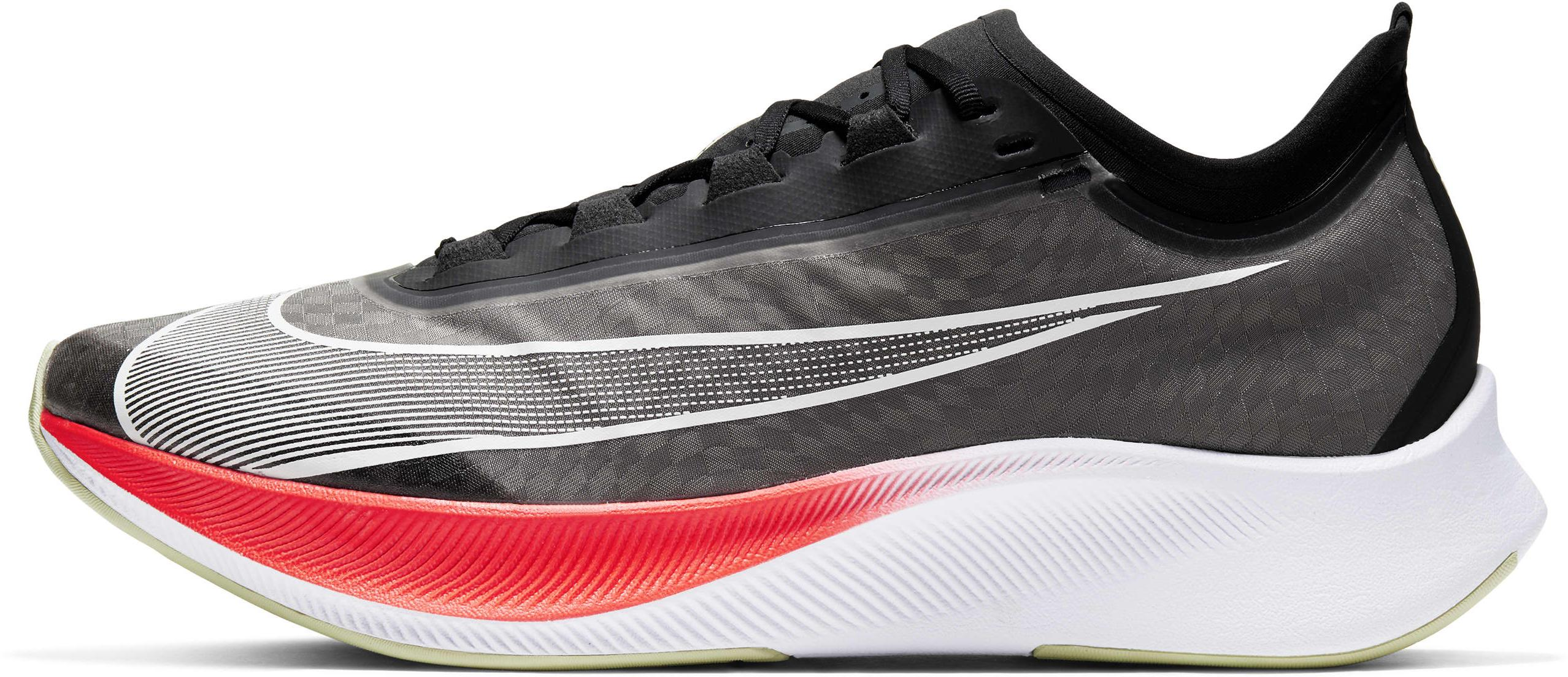 Nike Zoom Fly 3 Black/Laser Crimson/Olive Aura/White