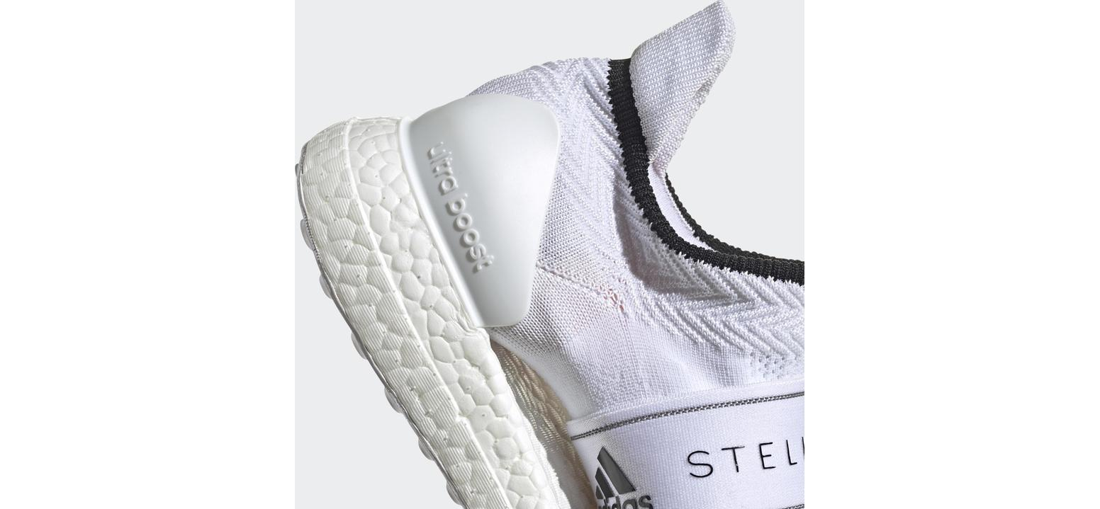 adidas Ultraboost X 3D Knit Core Black / Cloud White / Solar Orange