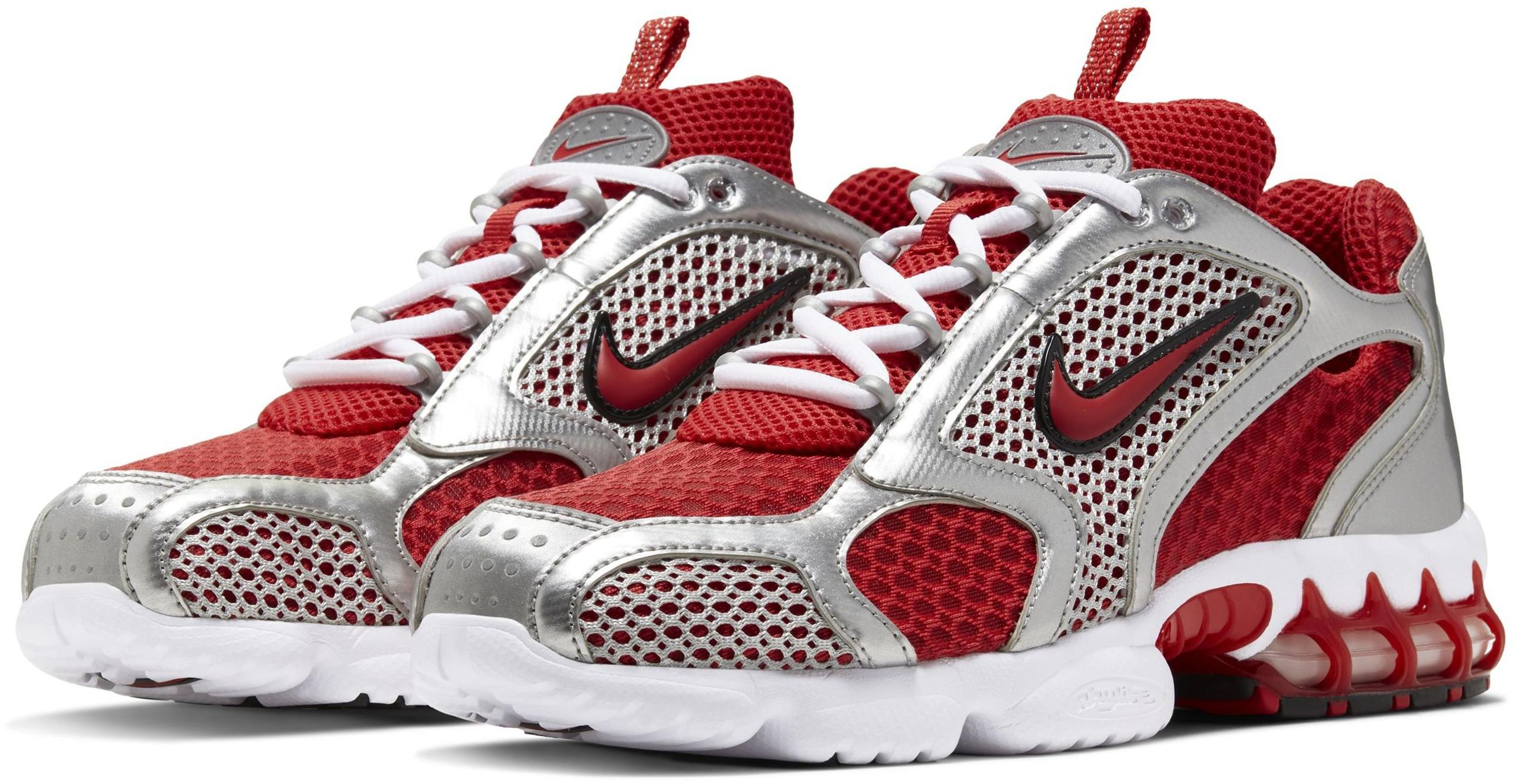 Nike Air Zoom Spiridon Cage 2 Track Red/White/Metallic Silver/Track Red