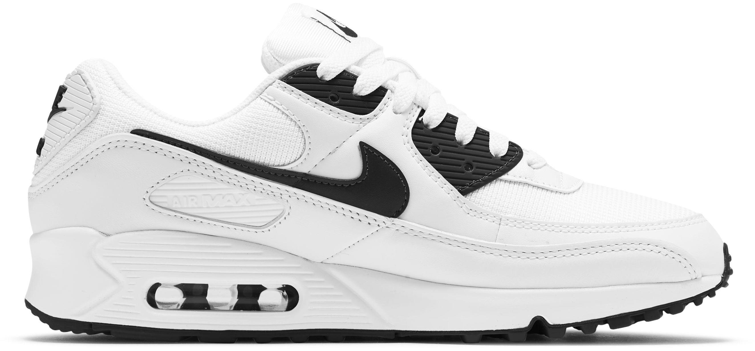 Nike Air Max 90 White/White/Black
