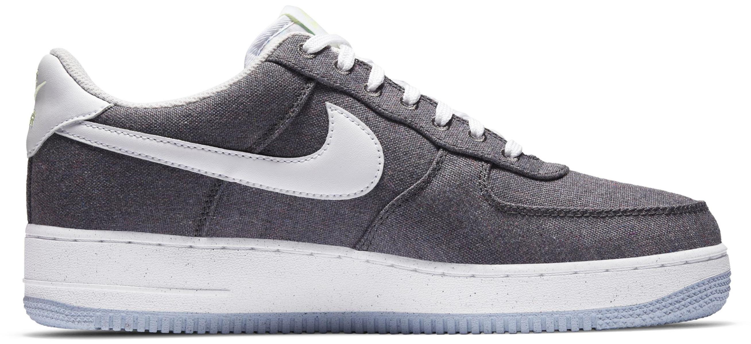 Nike Air Force 1 '07 Iron Grey/Barely Volt/Celestine Blue/White