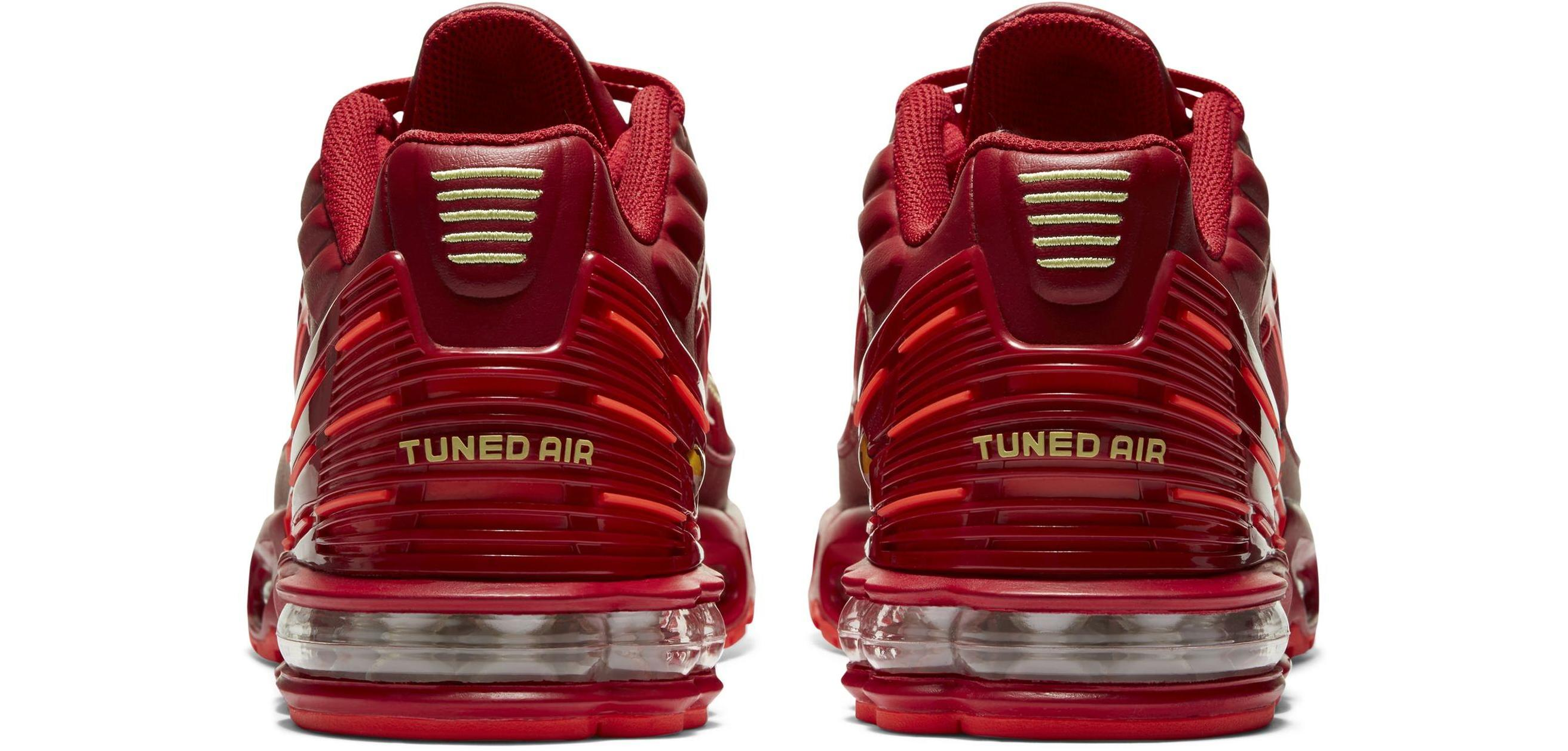 Nike Air Max Plus 3 Gym Red/Bright Crimson/White/Limelight
