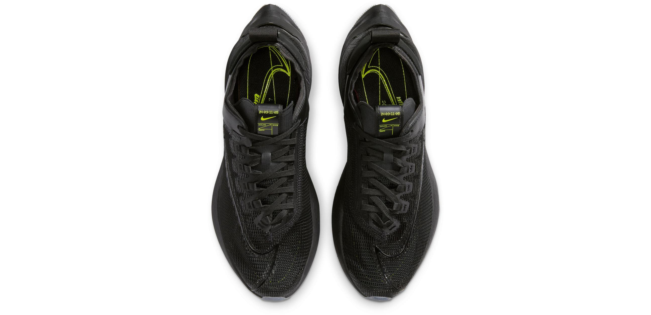 Nike Zoom Double Stacked Black/Black/Volt