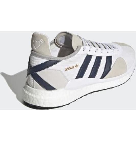adidas Human Made Tokio Solar Cloud White / Collegiate Navy / Core Black
